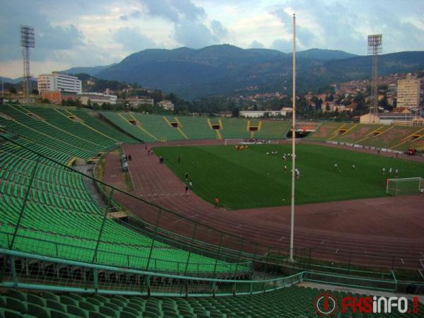 Olimpijski Stadion Asim Ferhatović Hase